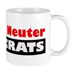 Spay or Neuter Democrats Mug