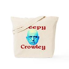 Creepy Crowley Tote Bag