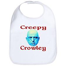 Creepy Crowley Bib