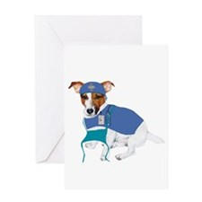 Jack Russell, Grey's Anatomy Greeting Card