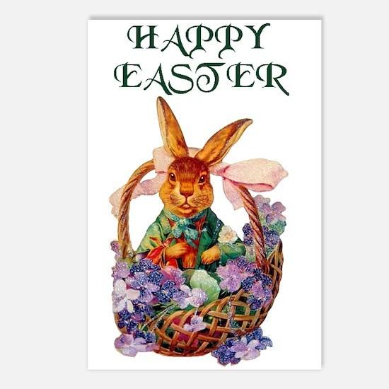Vintage Easter Bunny Postcards (Package of 8)