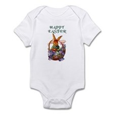 Vintage Easter Bunny Bodysuit Baby Shower Gift