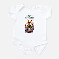 Vintage Easter Bunny Bodysuit Baby Shower Gift