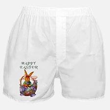 Vintage Easter Bunny Boxer Shorts