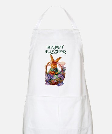 Vintage Easter Bunny Party Hostess Gift Apron