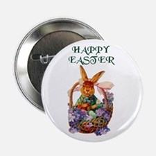 "Vintage Easter Bunny 2.25"" Button (10 pack)"