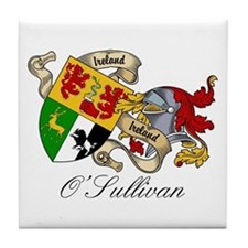 O Sullivan Coat of Arms Tile Coaster