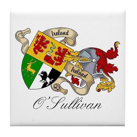 O Sullivan Coat of Arms Tile Coaster