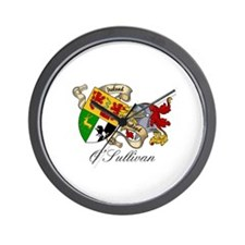 O Sullivan Coat of Arms Wall Clock