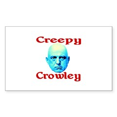 Creepy Crowley Decal