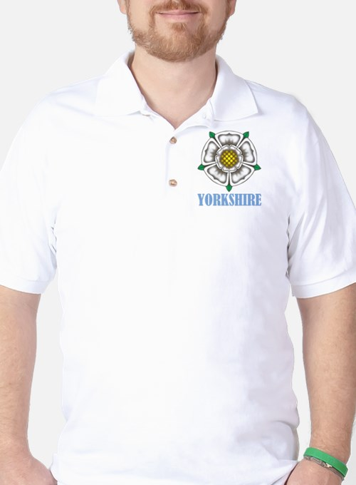 White Rose of York Golf Shirt