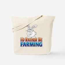 Cartoon Bunny Tote Bag