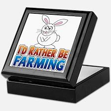 Cartoon Bunny Keepsake Box