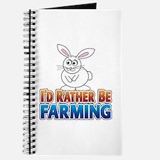 Cartoon Bunny Journal