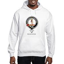 MacAlister Clan Crest Badge Hoodie