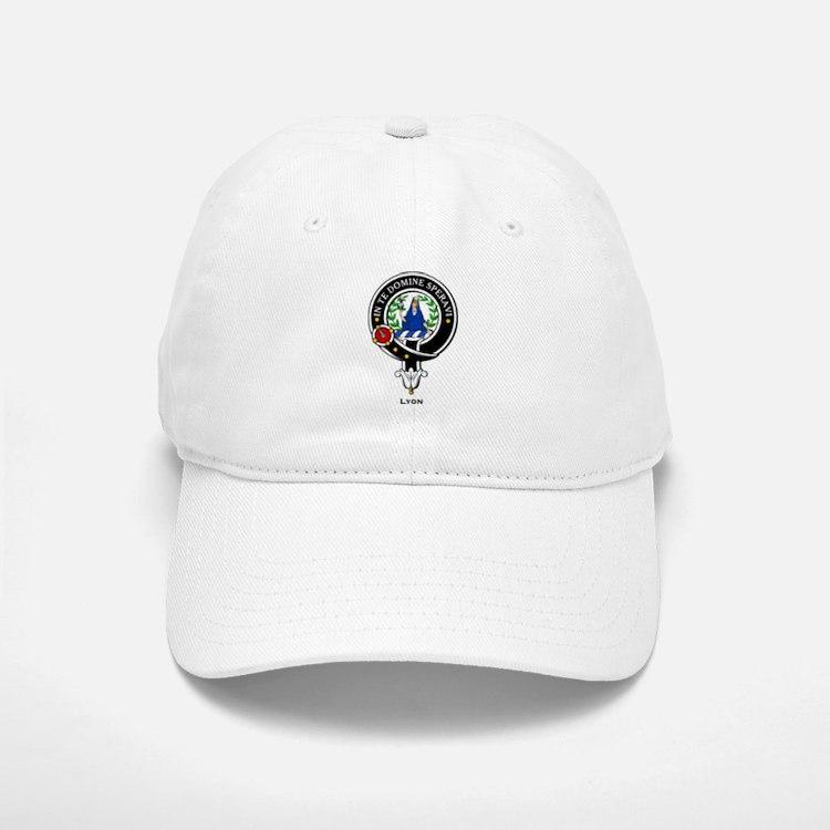 Lyon Clan Crest Badge Baseball Baseball Cap