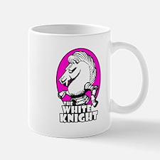 White Knight Logo Pink Mug