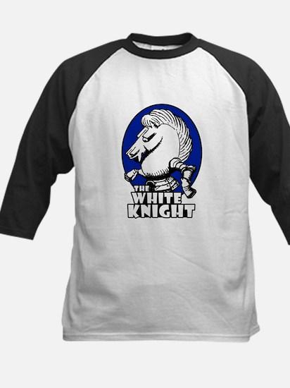 White Knight Logo Blue Kids Baseball Jersey