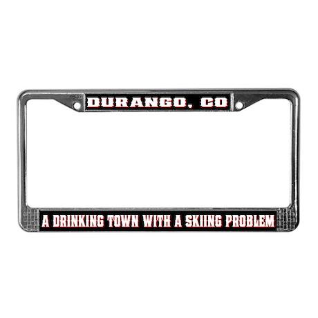 Durango Colorado License Plate Frame
