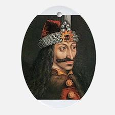 Vlad Dracula Ornament (Oval)
