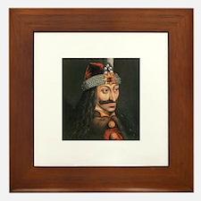 Vlad Dracula Framed Tile