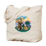 St Francis #2/ Wheaten #2 Tote Bag