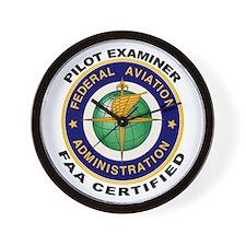 FAA Certified Pilot Examiner Wall Clock