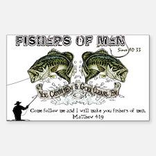 Jesus Fishers of Men Decal