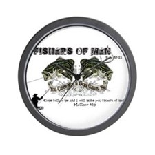 Jesus Fishers of Men Wall Clock