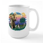 St Francis #2/ Boston Ter Large Mug