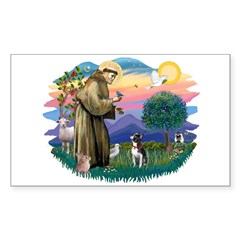 St Francis #2/ Boston Ter Decal