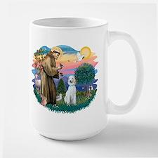 St Francis #2/ Poodle (Std C) Large Mug