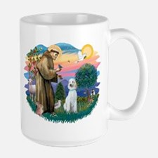 St Francis #2/ Poodle (Std C) Mug