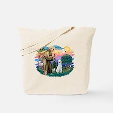 St Francis #2/ Poodle (Std C) Tote Bag