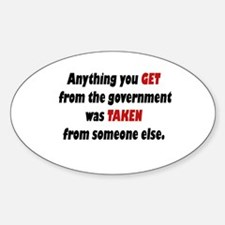 Tea Party Sticker (Oval 10 pk)