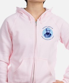 What Would Maimonides Do? Zip Hoodie