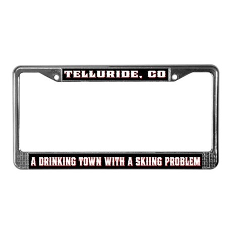 Telluride Colorado License Plate Frame