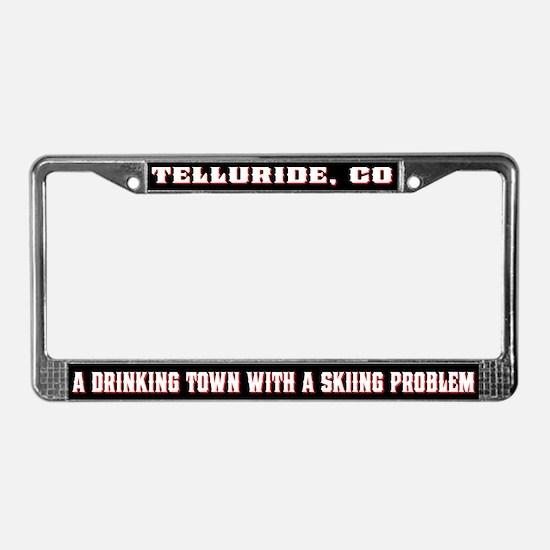 Telluride Colorado License Plate Frame
