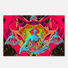 Kosmic Tea Time Postcards (Package of 8)