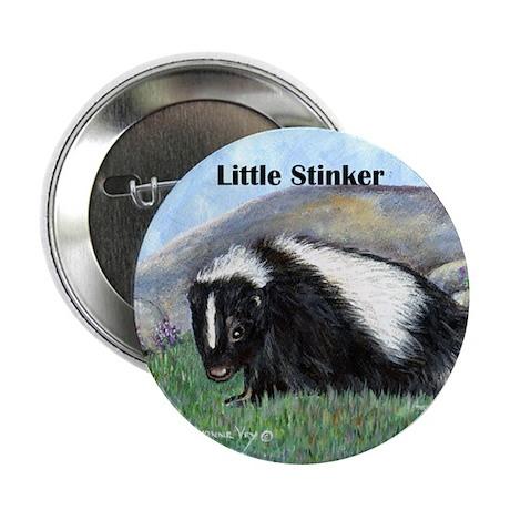 """Skunk Little Stinker 2.25"""" Button"""