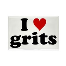 I Heart Grits Rectangle Magnet