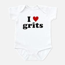 I Heart Grits Infant Bodysuit