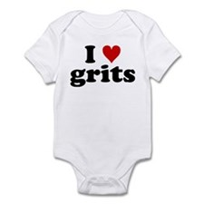 I Heart Grits Onesie