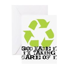 God Made It Greeting Card