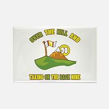 Golfing Humor For 90th Birthday Rectangle Magnet