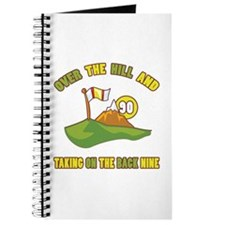 Golfing Humor For 90th Birthday Journal