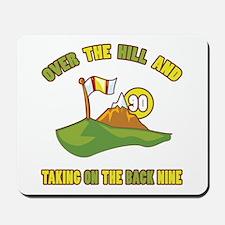 Golfing Humor For 90th Birthday Mousepad