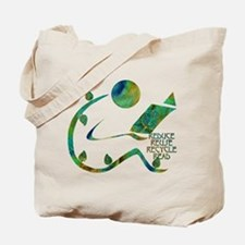 Four Rs Green Reader Tote Bag