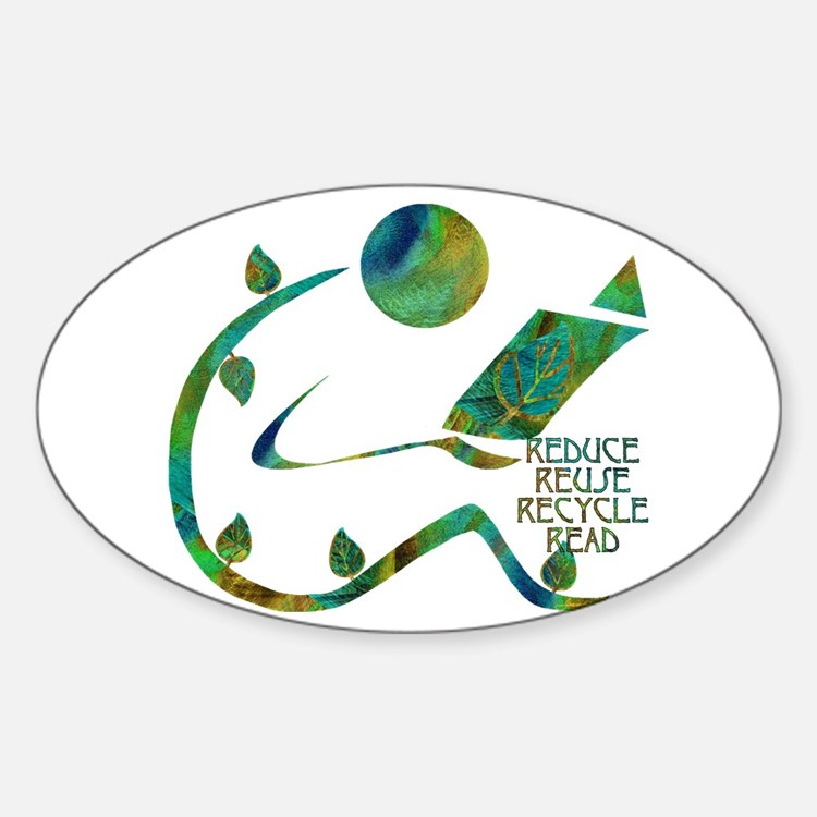 Four Rs Green Reader Decal