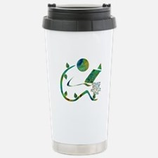Four Rs Green Reader Stainless Steel Travel Mug
